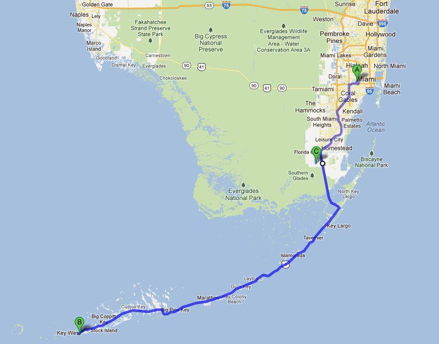 Carnet de voyage Miami