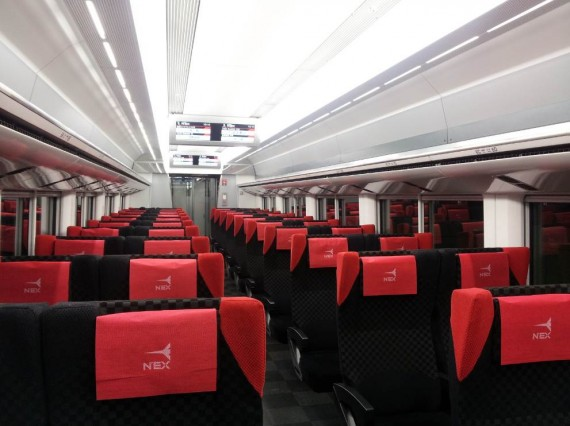 Tokyo - Narita Express (4)