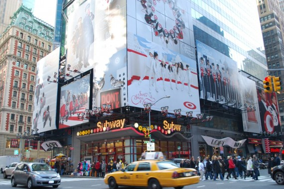 Times Square New York by day (5)