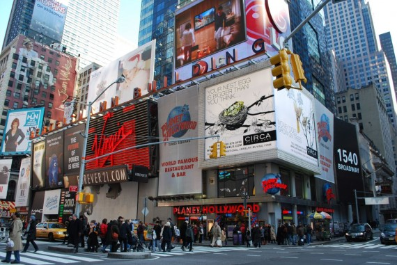 Times Square New York by day (8)