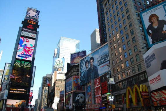 Times Square New York by day (9)