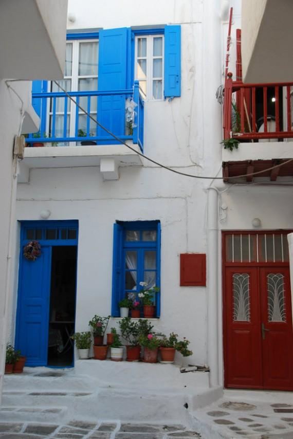 Bleu blanc rouge à Mykonos (10)