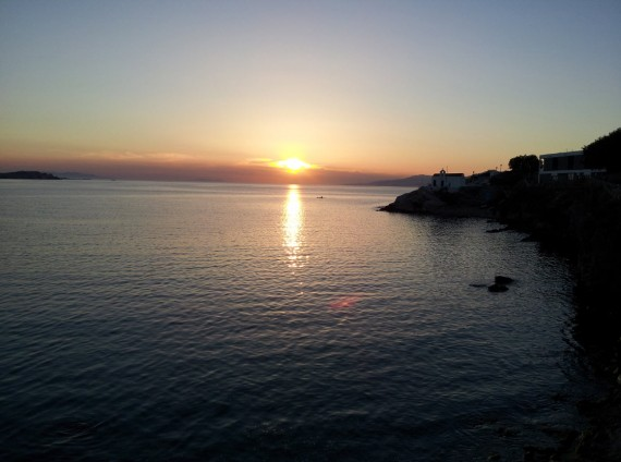 Bord de mer à Mykonos (1)