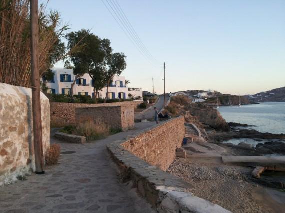 Bord de mer à Mykonos (2)