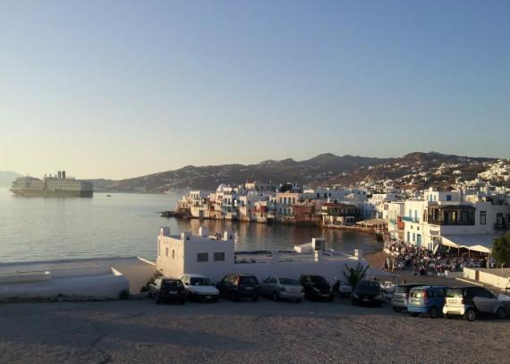 Bord de mer à Mykonos (3)