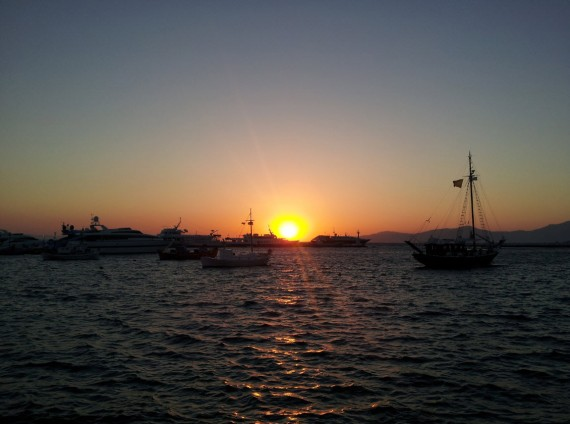 Bord de mer à Mykonos (4)