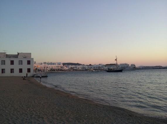 Bord de mer à Mykonos (5)