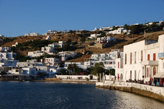 Bord de mer à Mykonos (6)