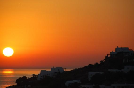 Coucher de soleil sur Mykonos (4)