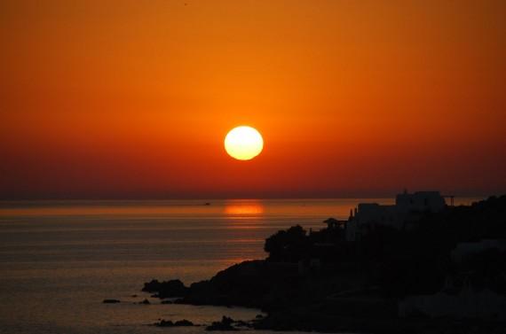 Coucher de soleil sur Mykonos (5)