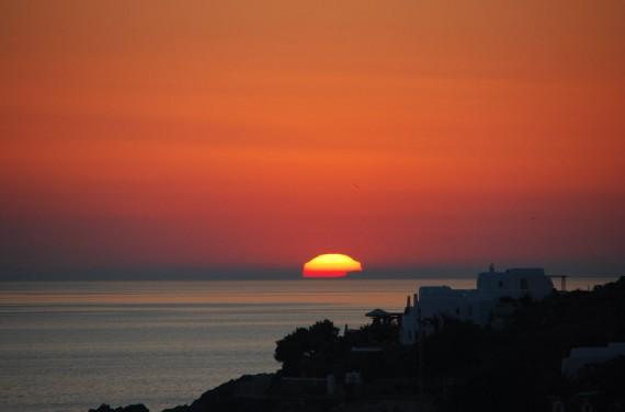 Coucher de soleil sur Mykonos (8)