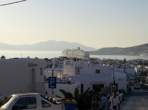 Dans les rues de Mykonos (4)