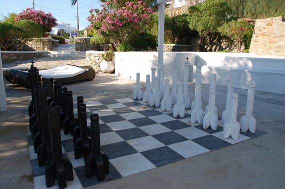 Parties communes Ostraco Suites Mykonos (12)