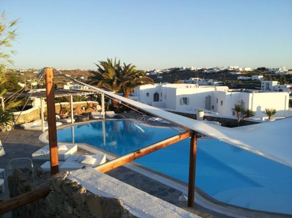 Parties communes Ostraco Suites Mykonos (2)