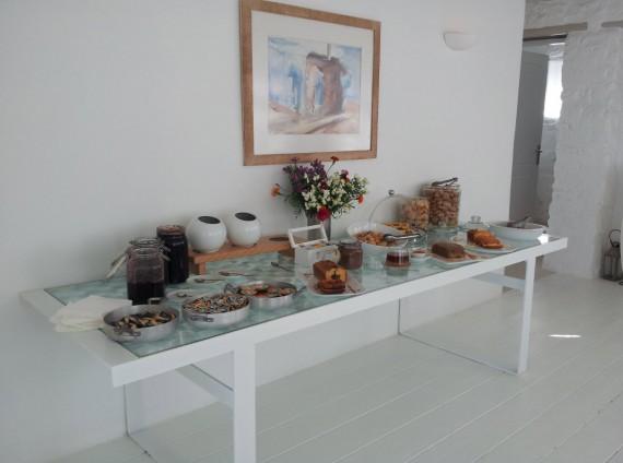 Parties communes Ostraco Suites Mykonos (7)