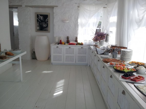 Parties communes Ostraco Suites Mykonos (9)
