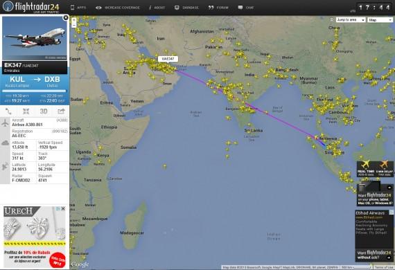Flight radar 04