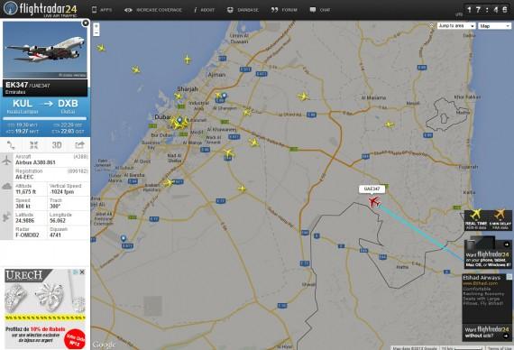 Flight radar 05