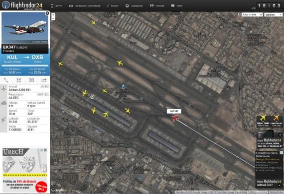 Flight radar 09