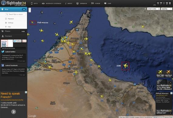 Flight radar 10