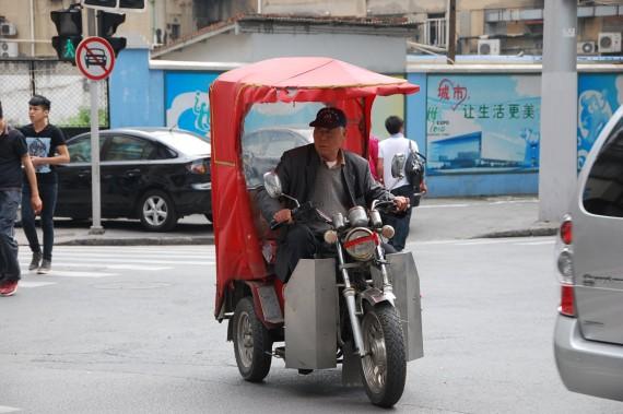 Transporteurs et marchands de rue Shanghai (1)