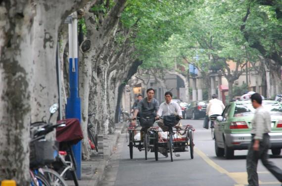 Transporteurs et marchands de rue Shanghai (10)