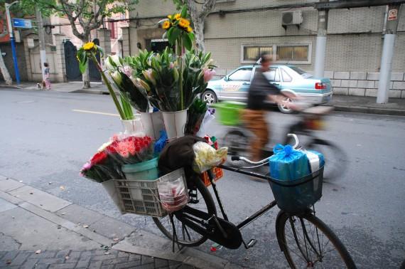 Transporteurs et marchands de rue Shanghai (11)