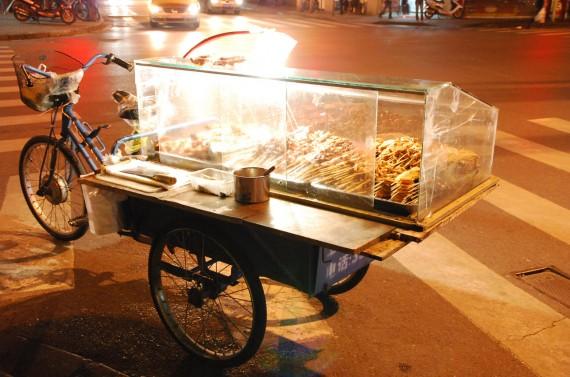 Transporteurs et marchands de rue Shanghai (12)