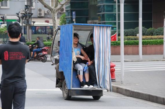 Transporteurs et marchands de rue Shanghai (2)