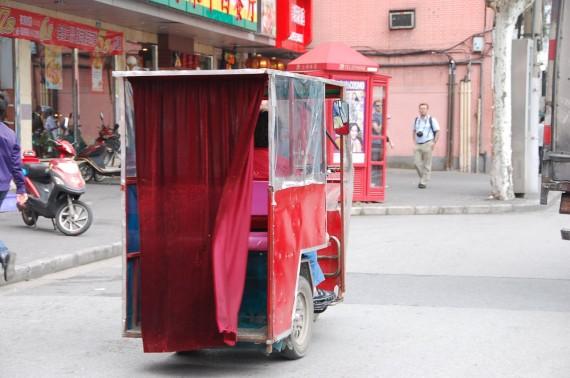 Transporteurs et marchands de rue Shanghai (3)