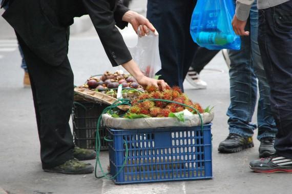 Transporteurs et marchands de rue Shanghai (4)
