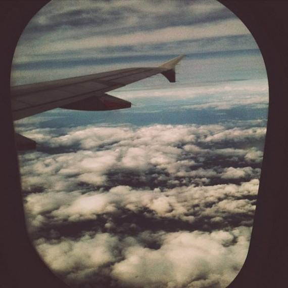 Vue avion