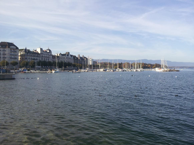 Geneve plage Bains