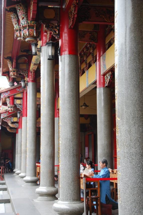 Cérémonies et offrandes Xingtian Temple (2)