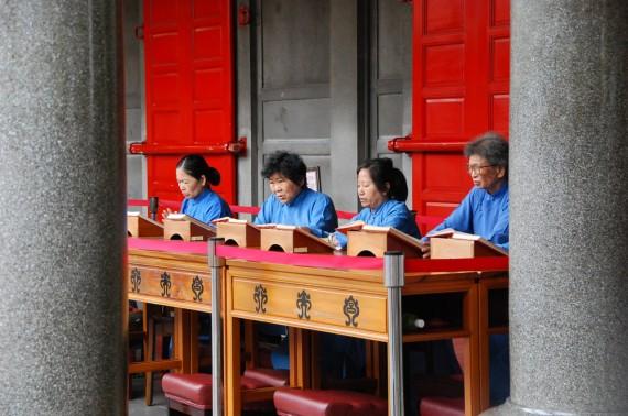 Cérémonies et offrandes Xingtian Temple (3)