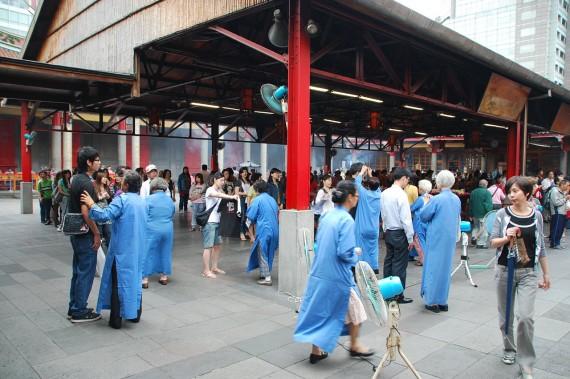 Cérémonies et offrandes Xingtian Temple (4)