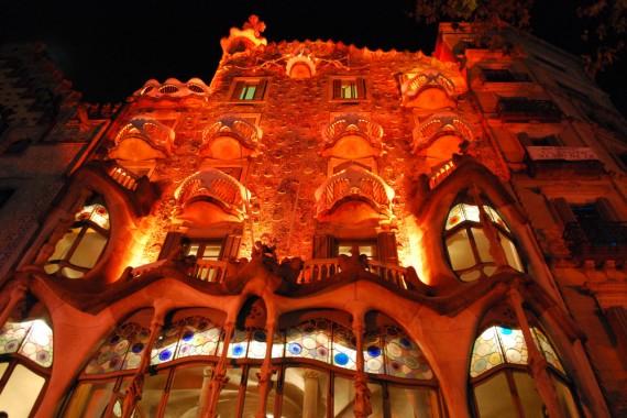 Casa Batlló Gaudí Barcelone (1)
