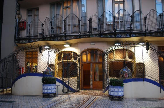 Casa Batlló Gaudí Barcelone (32)