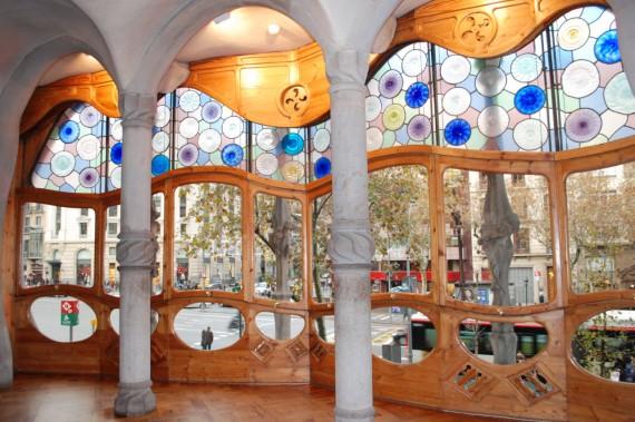 Casa Batlló Gaudí Barcelone (38)