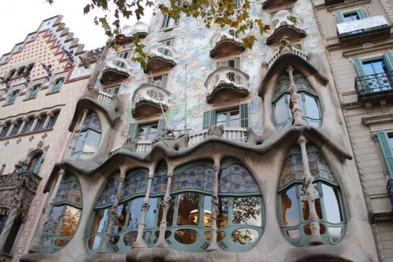 Casa Batlló Gaudí Barcelone (39)
