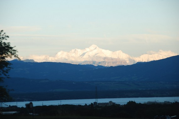 Vue sur les Alpes depuis Nyon 01