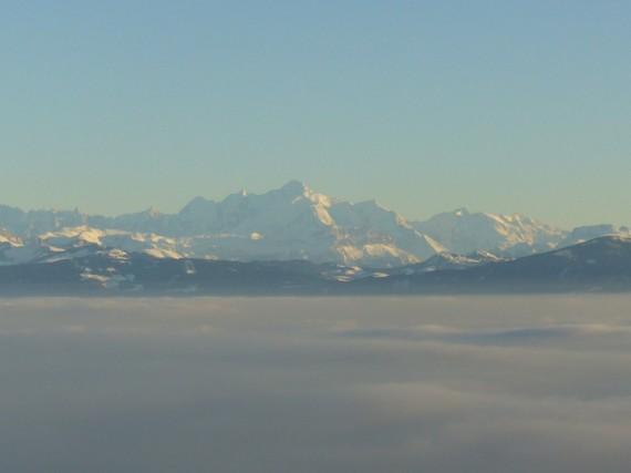 Vue sur les Alpes depuis Saint-Cergues 02