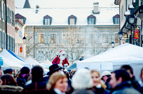 Marché de Noel Carouge