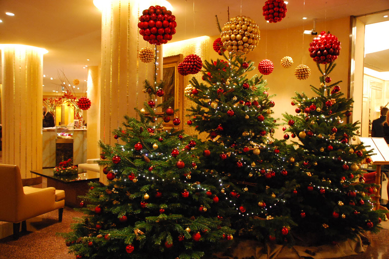 #BE2E0D Un Noël à L'hôtel Richemond Genève Inspiration For  5409 decorations de noel en gros 1280x851 px @ aertt.com