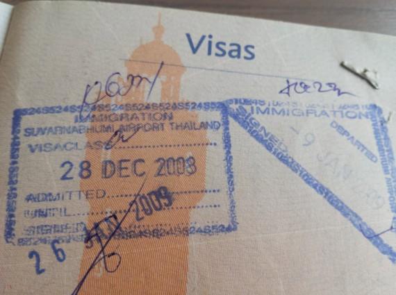Passeport et visa 08