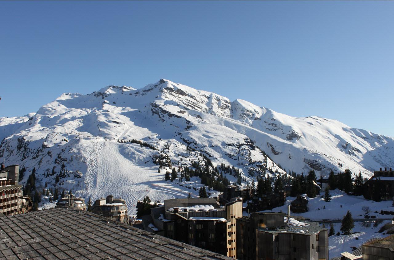 Skier depart Geneve Avoriaz