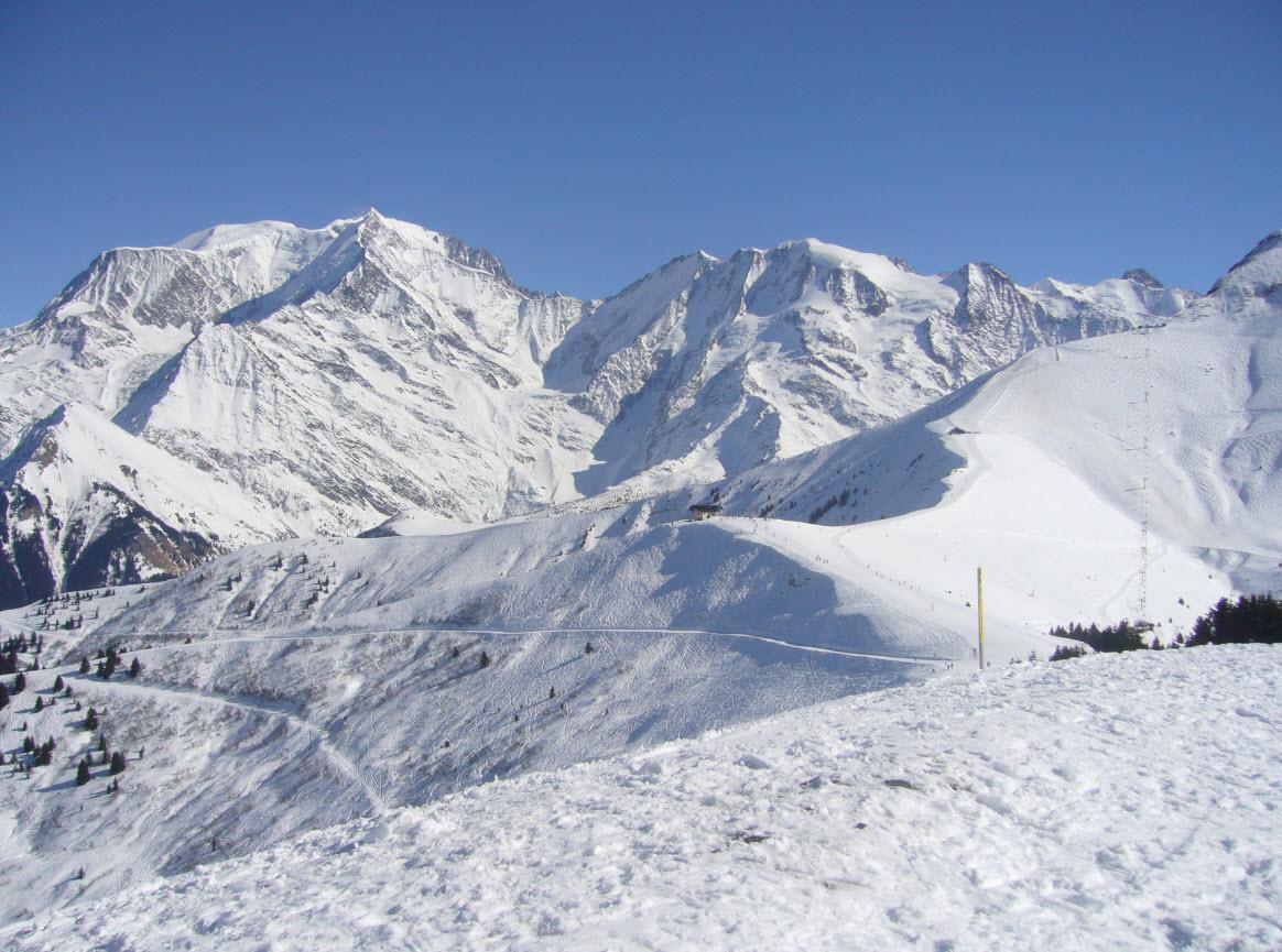 Skier depart Geneve Megeve
