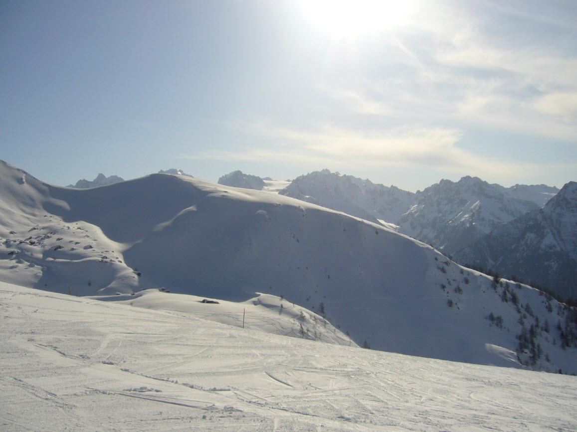 Skier depart Geneve Bruson