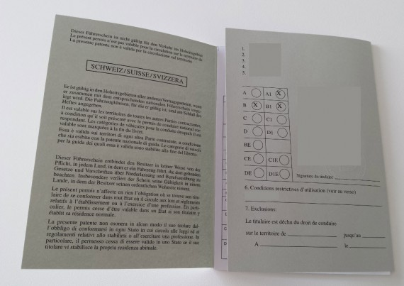 Permis de conduire international 01