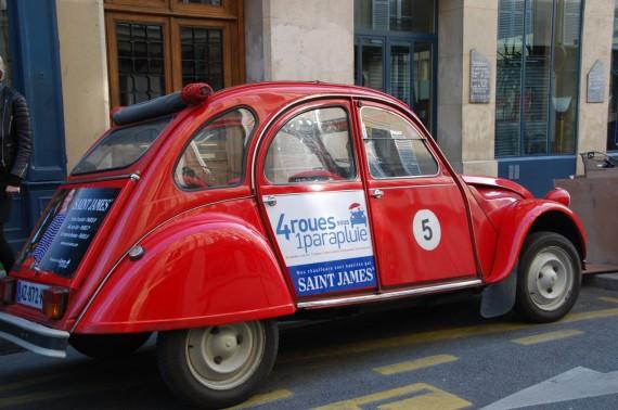 Balade en 2CV Paris 01